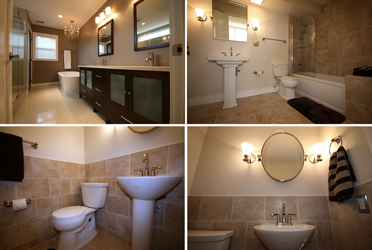 Examples Renovated Bathrooms Insurserviceonlinecom - Renovated bathrooms